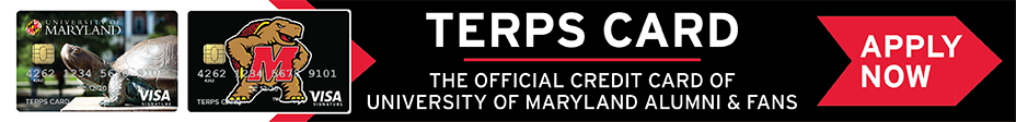 Apply for the Terp Card, Official Credit Card of UMD Alumni and Fans