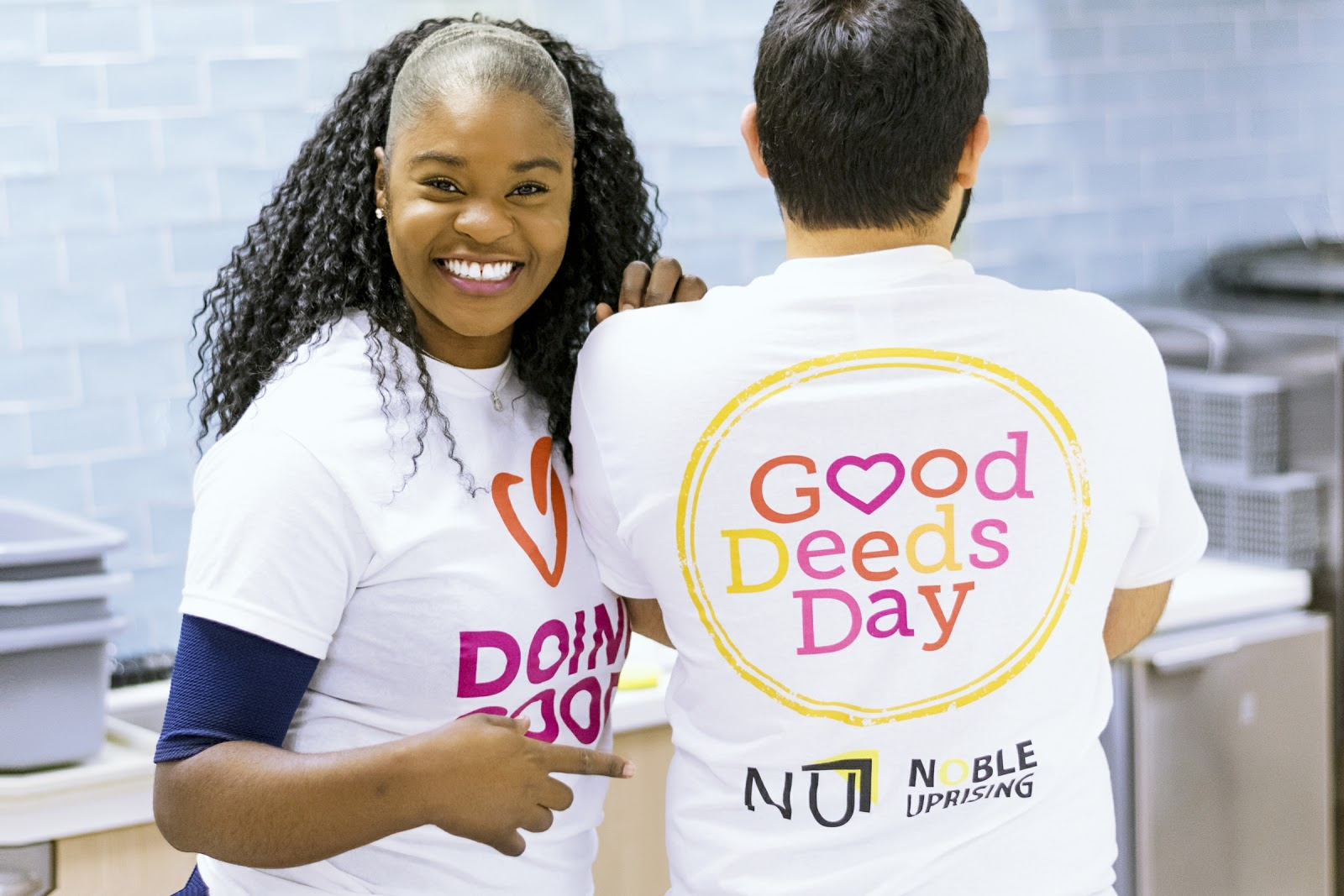 Friday Five, Featuring Doing Good with Audrey Awasom '18