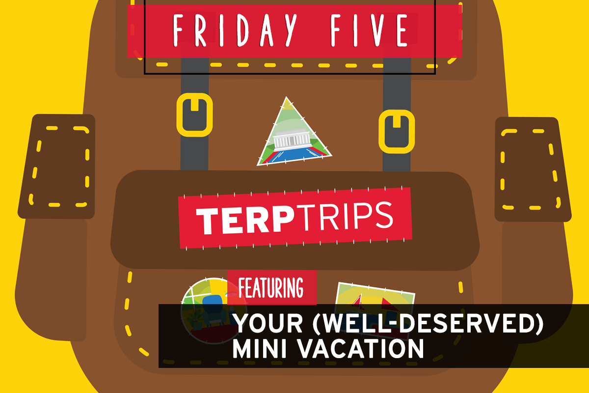 Friday Five, Featuring Your (Well-Deserved) Mini Vacation