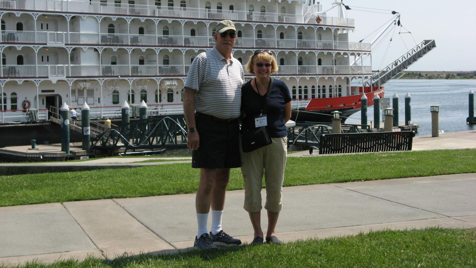 Sharon Bley '70 and her husband, Les.