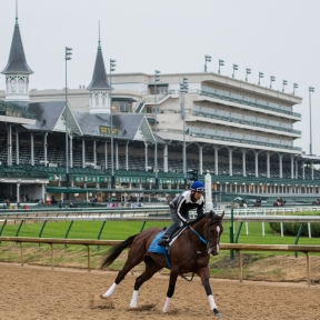 Horse racing at Churchill Downs